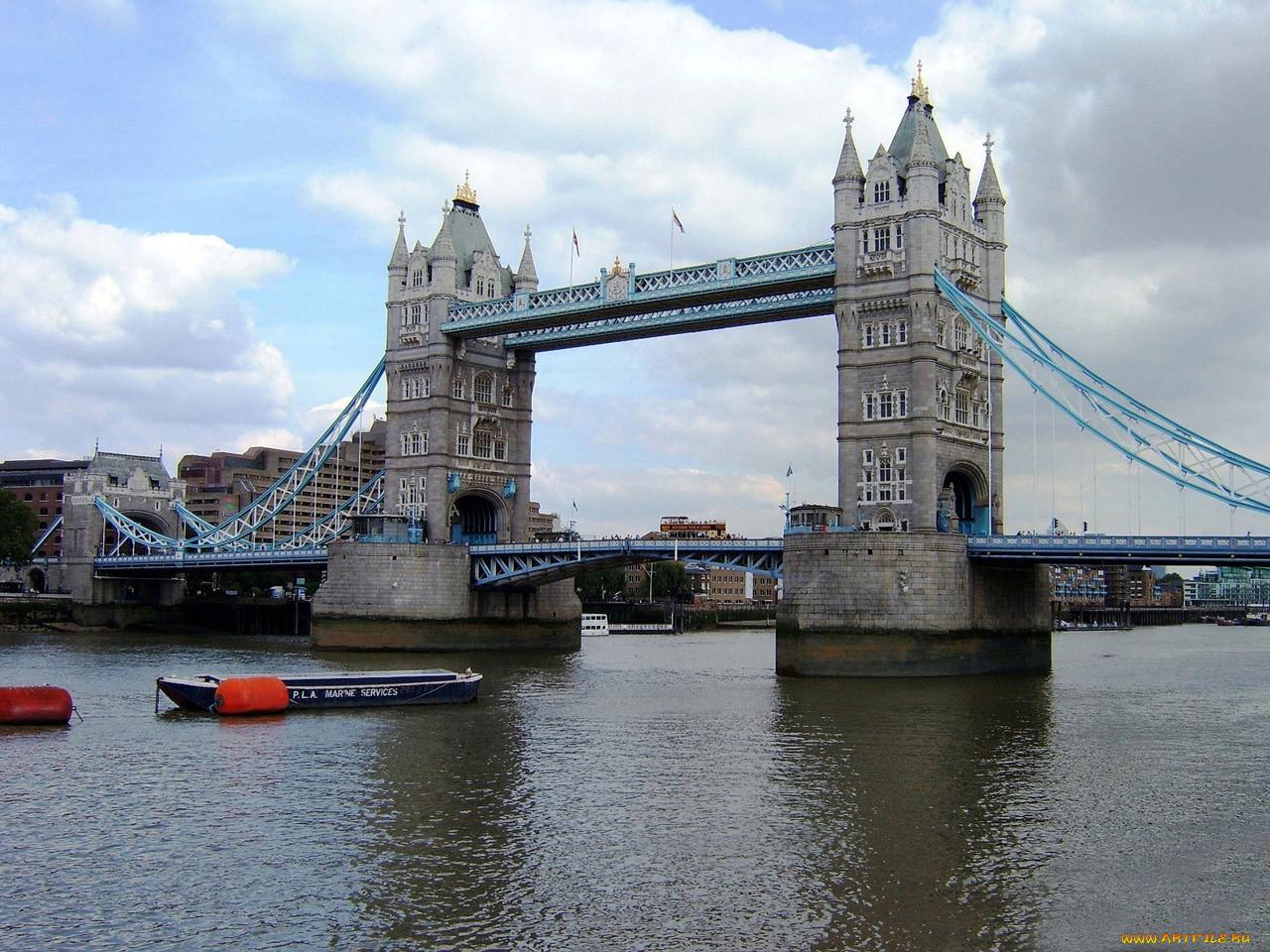мост в великобритании на английском термоэтикетку